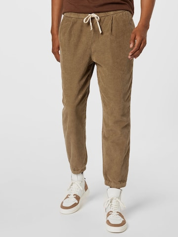 Pantalon à plis 'Lunipark' AMERICAN VINTAGE en vert