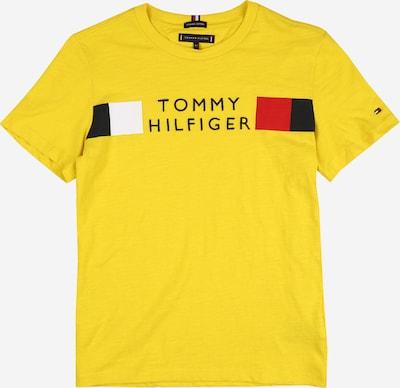 TOMMY HILFIGER T-Shirt en jaune / rouge / noir / blanc, Vue avec produit