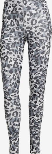 ADIDAS PERFORMANCE Leggings in grau / dunkelgrau / weiß, Produktansicht