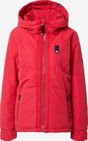 Alife and Kickin Between-Season Jacket 'Janis' in Red