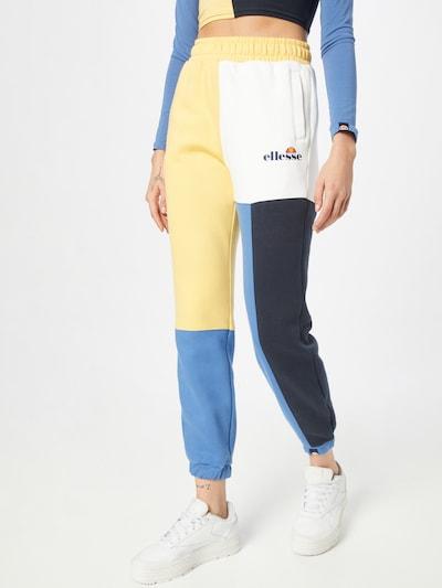 ELLESSE Nohavice 'Albi' - modrá / žltá / čierna / biela, Model/-ka