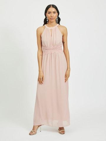 VILA Evening Dress 'VIMILINA' in Pink