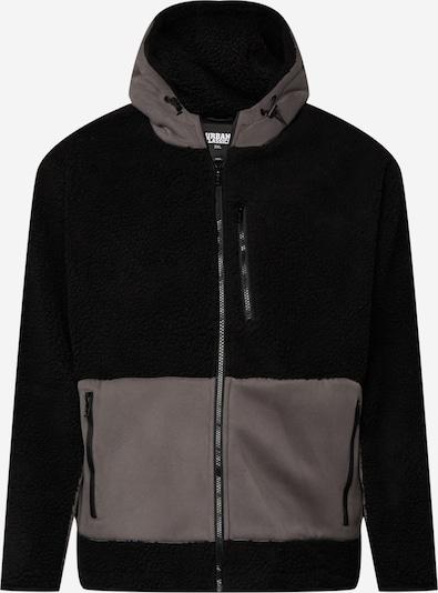 Urban Classics Big & Tall Jacke in braun / schwarz, Produktansicht