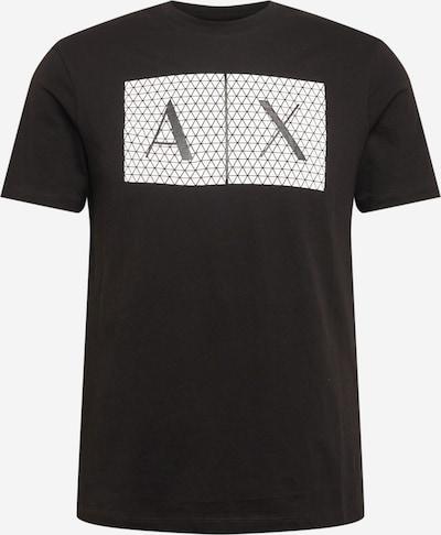 ARMANI EXCHANGE T-Shirt '8NZTCK' in schwarz / weiß, Produktansicht