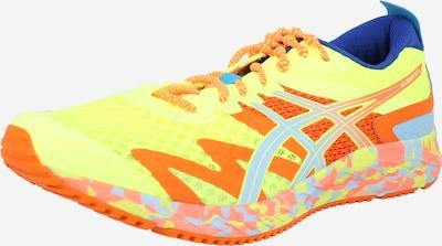 ASICS Zapatillas de running 'GEL-NOOSA TRI 12' en azul real / azul claro / amarillo / mezcla de colores / naranja oscuro, Vista del producto