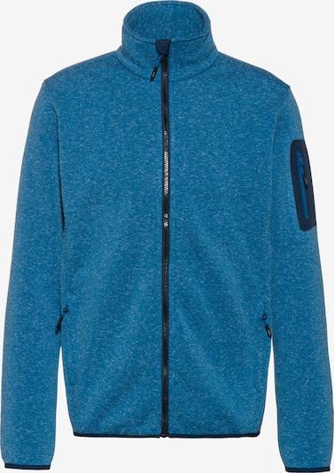 CMP Athletic Fleece Jacket in Navy / mottled blue, Item view
