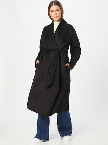 IVY & OAK Between-seasons coat in Black