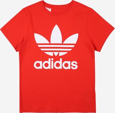 ADIDAS ORIGINALS T-shirt i ljusröd / vit, Produktvy