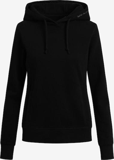 Shirts for Life Sweatshirt 'Leonie' in schwarz, Produktansicht