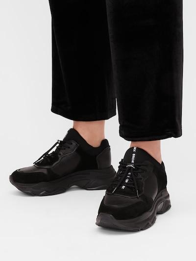 BRONX Sneakers laag 'Baisley' in de kleur Zwart: Vooraanzicht