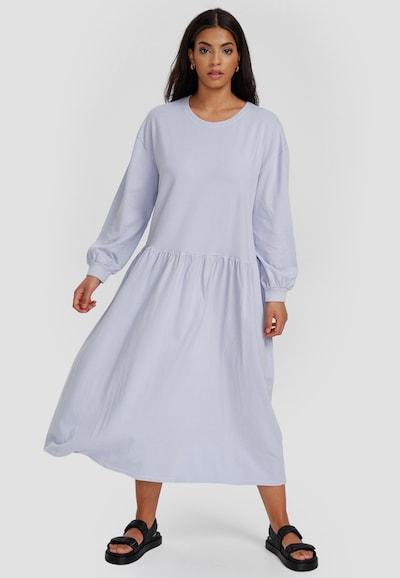 Cotton Candy Maxikleid in blau, Modelansicht
