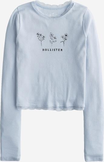 HOLLISTER Тениска в светлосиньо / черно, Преглед на продукта