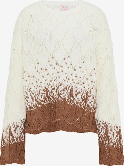 IZIA Sweater in Brown / White, Item view