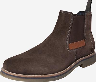 bugatti Chelsea Boots en taupe, Vue avec produit
