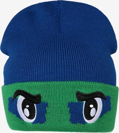 Megzta kepurė 'HALVER' iš ICEPEAK , spalva - mėlyna / žalia / juoda / balta, Prekių apžvalga