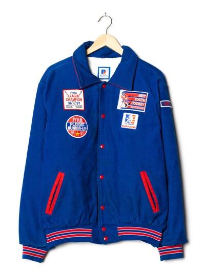 Rennoc Cord-Jacke in L-XL in kobaltblau, Produktansicht