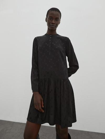 EDITED Kleid 'Elodie' in schwarz, Modelansicht