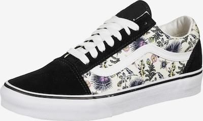 VANS Sneakers laag 'Old Skool' in de kleur Geel / Donkerlila / Zwart / Wit / Natuurwit, Productweergave