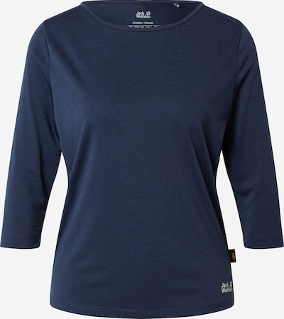 JACK WOLFSKIN Functional shirt in dusty blue / light grey, Item view