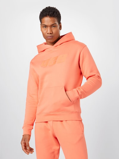 ABOUT YOU x Mero Sweatshirt '428' in koralle: Frontalansicht
