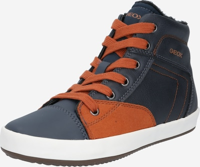 GEOX Kids Sneaker 'Gisli' in navy / dunkelorange, Produktansicht