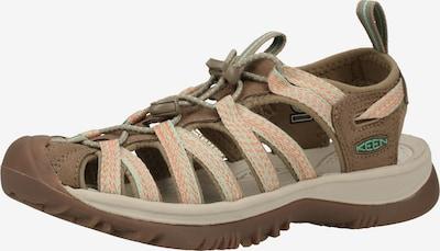KEEN Sandaal in de kleur Blauw / Kaki / Rood, Productweergave