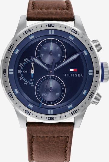 TOMMY HILFIGER Analógové hodinky - nebesky modrá / okrová / sivá, Produkt