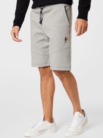 RÆBURN Spodnie w kolorze szary