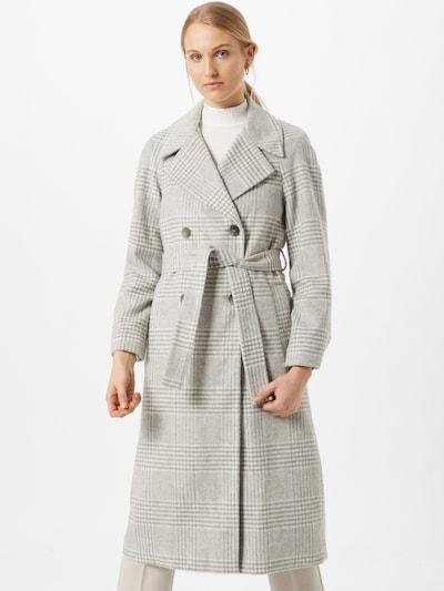 Dorothy Perkins Prijelazni kaput u siva melange / bijela, Prikaz modela