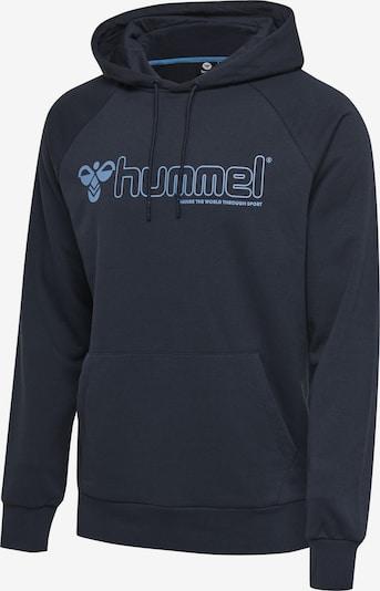 Hummel Hoodie in blau / navy, Produktansicht