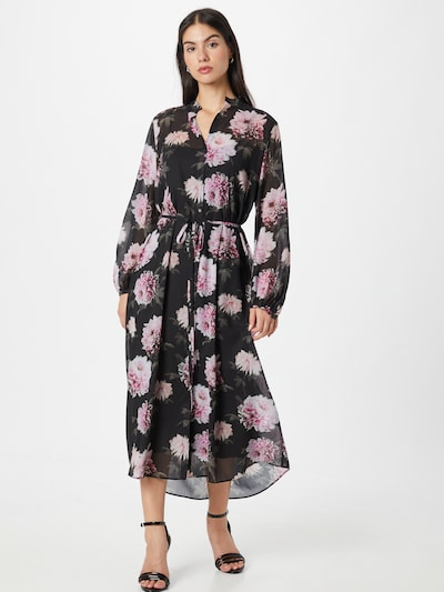 Rochie tip bluză 'Eletra' HUGO pe verde pin / roz / roz pitaya / roz pudră / negru, Vizualizare model