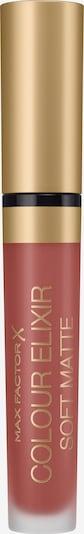 MAX FACTOR Lippenstift 'Colour Elixir Soft Matte' in rosa, Produktansicht