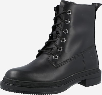 TIMBERLAND Lace-Up Ankle Boots in Black, Item view