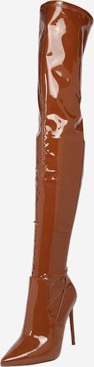 STEVE MADDEN Overknee laarzen 'VAVA' in de kleur Cognac, Productweergave