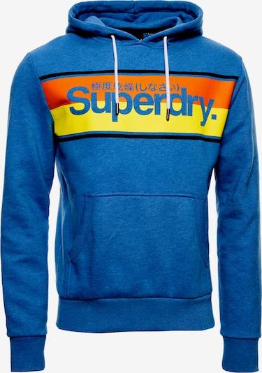 Superdry Hoodie in blau, Produktansicht