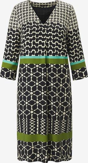 Emilia Lay Jurk in de kleur Beige / Grasgroen / Zwart, Productweergave