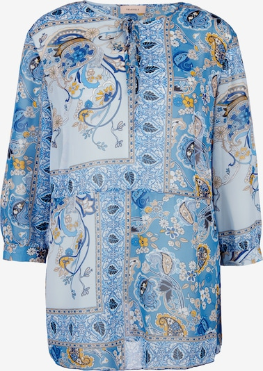 TRIANGLE Bluse in blau / mischfarben, Produktansicht