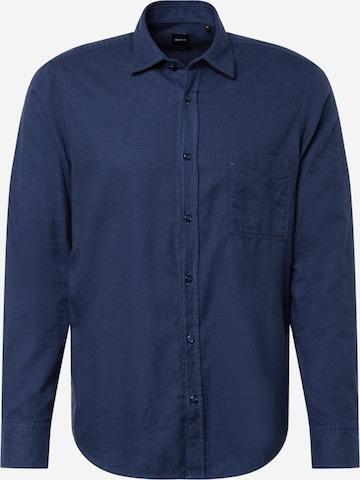 Camicia 'Relegant' di BOSS Casual in blu