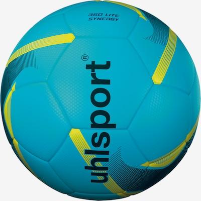 UHLSPORT Ball in cyanblau / grün / schwarz, Produktansicht