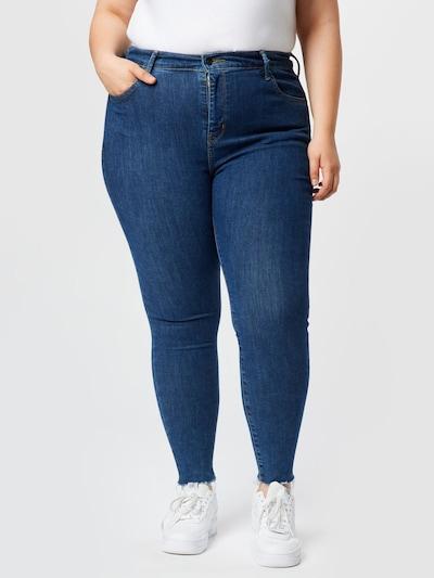 Levi's® Plus Jeans in blau, Modelansicht