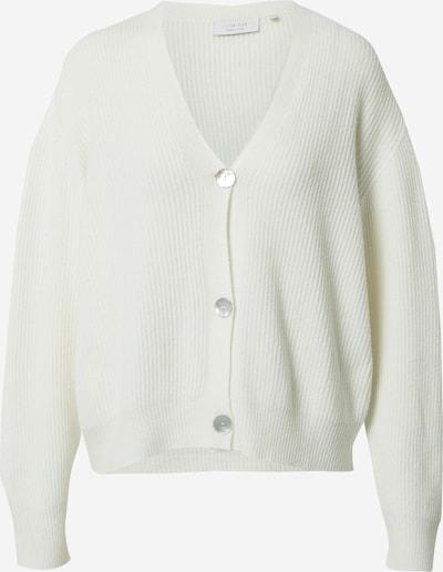 Rich & Royal Cardigan en blanc, Vue avec produit