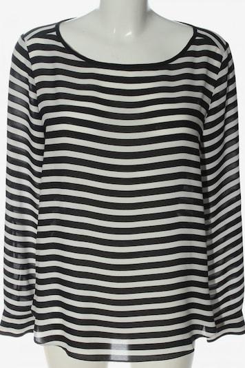 LOFT Langarm-Bluse in S in schwarz / weiß, Produktansicht