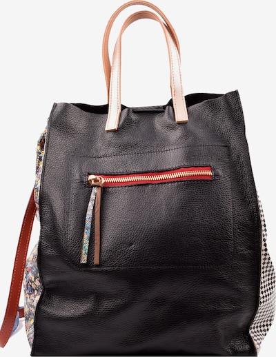 ebarrito Umhängetasche 'OPHELIA BAG' in beige / rot / schwarz, Produktansicht
