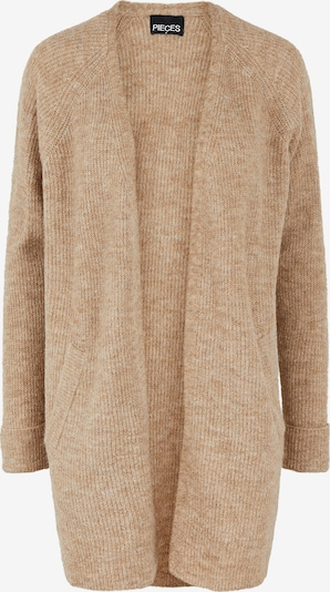 PIECES Knit Cardigan 'Ellen' in Light brown, Item view