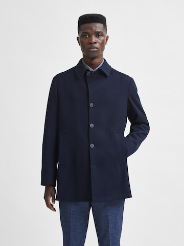 Manteau mi-saison 'Draper' SELECTED HOMME en bleu