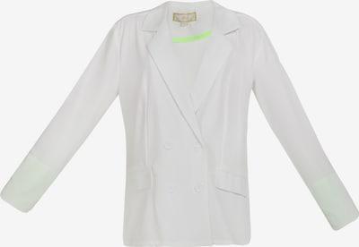 MYMO Blazer in neongrün / weiß, Produktansicht