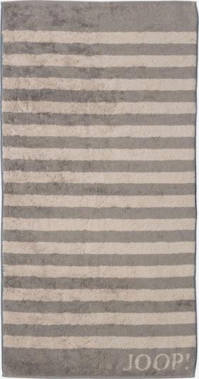 JOOP! Duschtuch 'Stripes' in camel / rauchgrau, Produktansicht