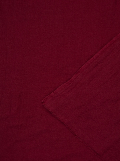 APART Wollschal einfarbig in bordeaux, Produktansicht