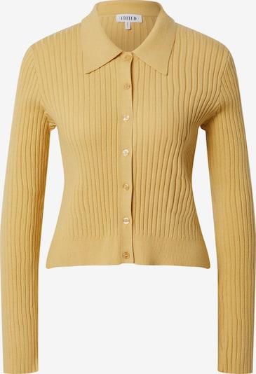 EDITED Strickjacke 'Simona' in gelb, Produktansicht