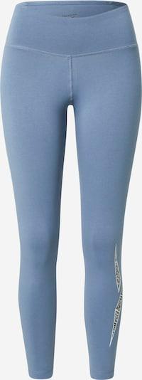 Reebok Sport Sporthose in rauchblau / rauchgrau / schwarz / weiß, Produktansicht